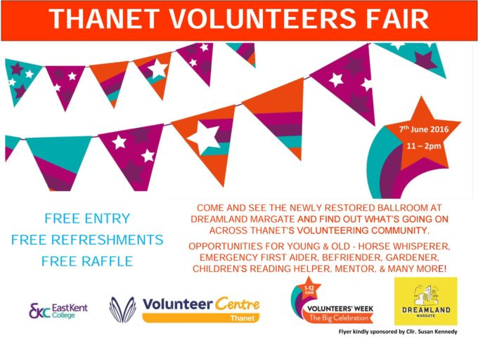 Thanet Volunteer Fair 2016